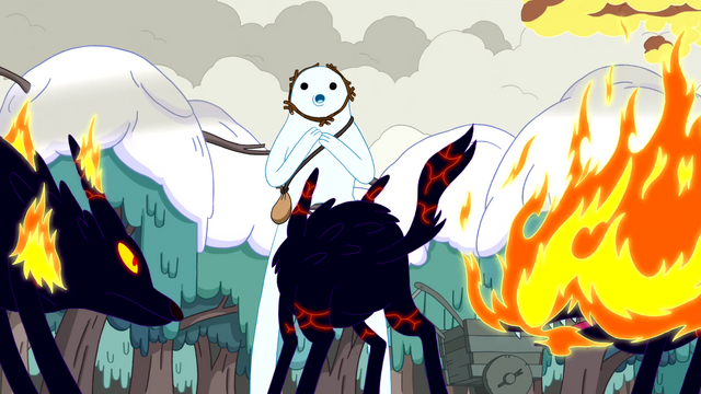 File:S3e17 Snow Golem encounters Fire Wolves.png