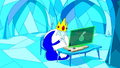 S3e4 Ice King using computer.png