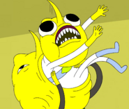 S5e24 Lemongrab eating clone