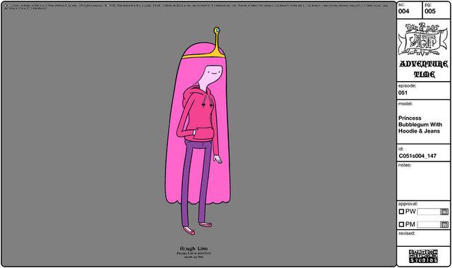 File:Modelsheet princessbubblegumwithhoodie&jeans.jpg