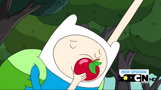 File:S2e10 Finn kissing apple.png