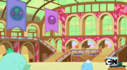 S5 e25 Candy Kingdom train station