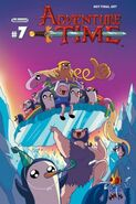 Adventure Time 7 cover B