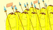 S6e10 Scared Banana Guards