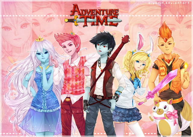 File:Adventure Time Anime Genderswap.png