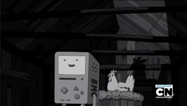 File:S4e17 BMO in Lorraines chicken coop.png
