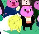 Mr. Pig's relatives