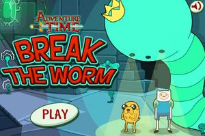 Break the worm title screen