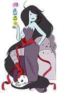 Vampire Queen of Ooo MarcelineNatsha