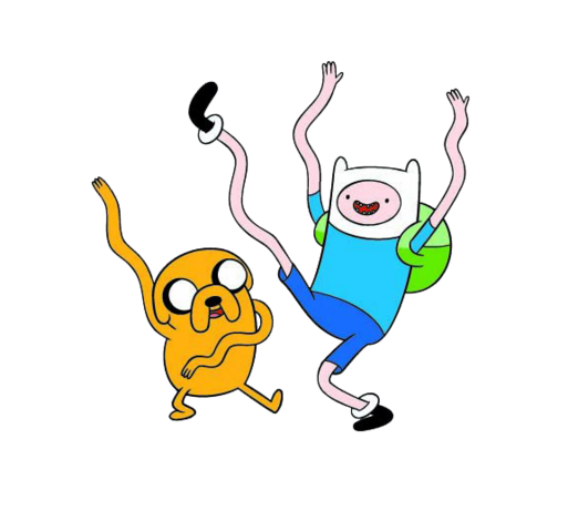 File:Finn and Jake dancing.png