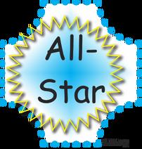 All-Start badge 1