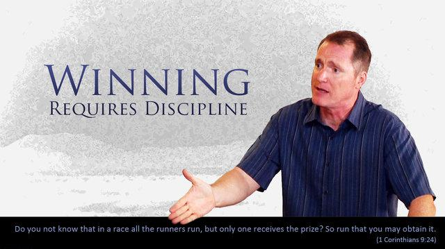 Winning Requires Discipline - Tim Conway