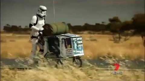 Stormtrooper's 5,000 k Australian Marathon