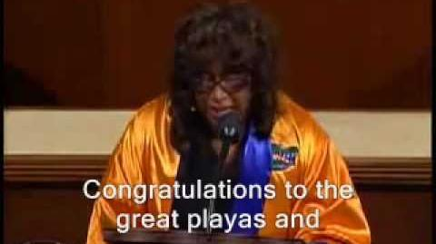Corrine Brown - Go Gata (with Subtitles)