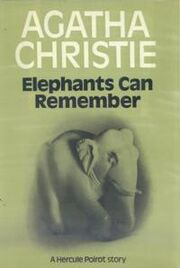 Elephants can Remember First Edition Cover 1972