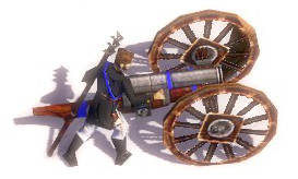 Problem with horse artillery model having replace texture bug when dismount Horse_Artillery