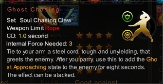 (Soul Chasing Claw) Ghost Chasing (Description)