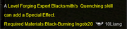 BlacksmithUpgrade