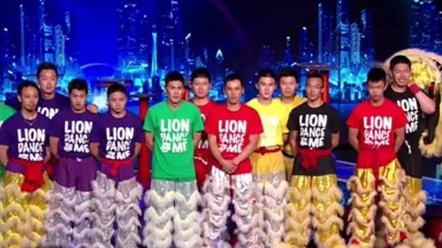 Lion Dance Me, Top 48 Live Q2 ~ America's Got Talent 2012-0