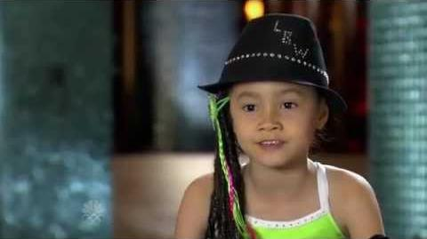 Lil Babywockee - Dancing - Vegas Round - America's Got Talent 2012