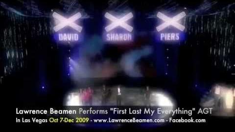 "America's Got Talent - Lawrence Beamen - ""First Last My Everything"""