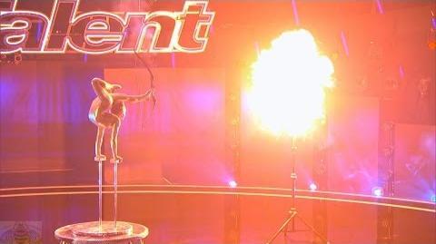 America's Got Talent 2016 Sofie Dossi Amazing 14 Y.O