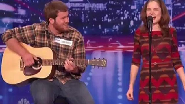 Eric & Olivia, Austin Auditions ~ America's Got Talent 2012