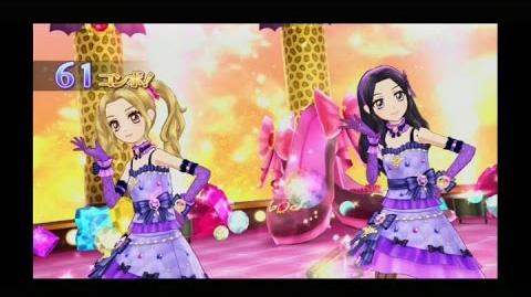 【アイカツ】のの&リサちゃんで「lucky train!」(2人ユニット)