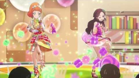 (HD)Aikatsu!-Amafuwa☆Nadeshiko-Love Like Caramelize (Episode 136)