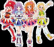 Juri,Sumire,Akari, Hinaki