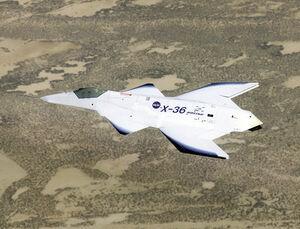 786px-Boeing-X36-InFlight-1-