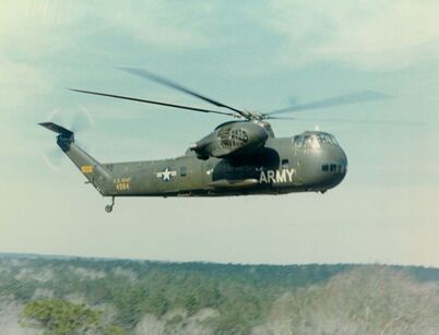 CH-37B Mohave in flight