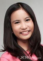 JKT48 Zebi Magnolia Fawwaz 2014