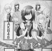 AKB0048 manga