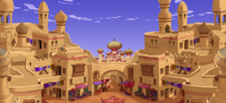Agrabah map