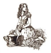 Tim burtons alice in wonderland conceptart ChCBW