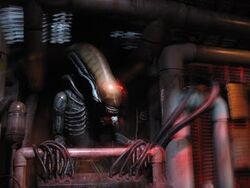 The Alien in The Great Movie Ride