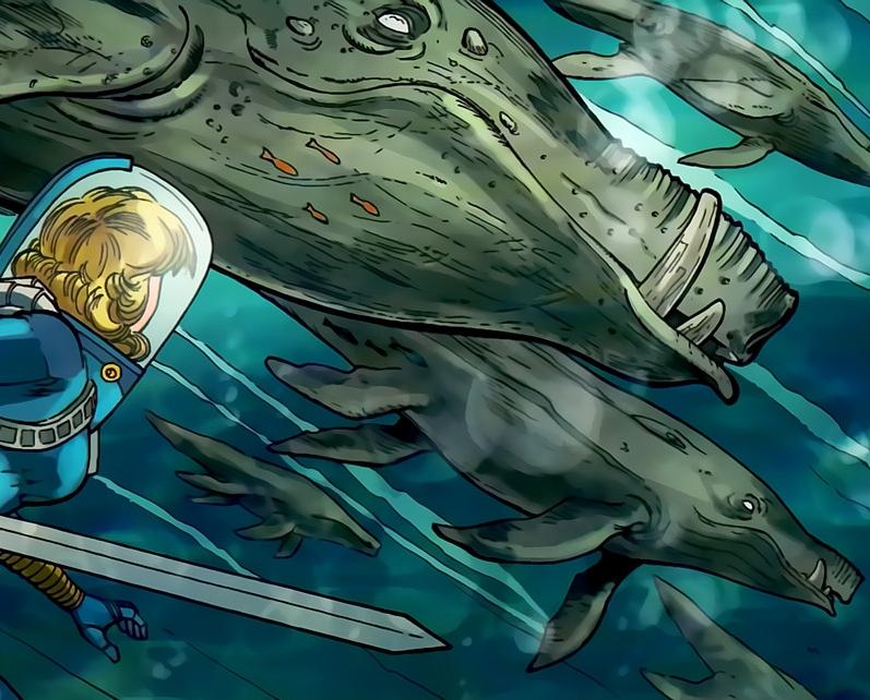 Blind Whale Alien Species Fandom Powered By Wikia