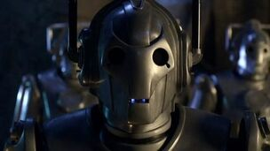 Cybermen faces