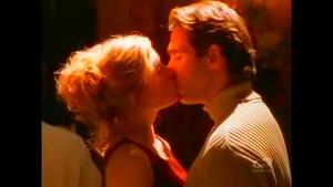 Cole and Mel share a kiss.