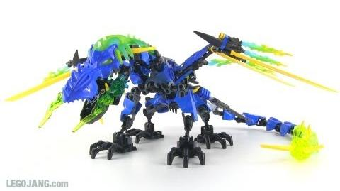 Hero Factory Dragon Bolt upgrade - Surge combination MOC