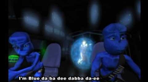 Blue Aliens