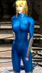 Samus with no armor