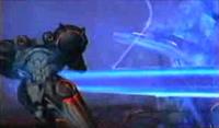 Metroid prime grabs samus