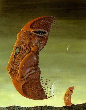 Am wayne barlowe rugose floater