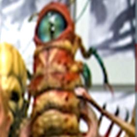 One eye worm