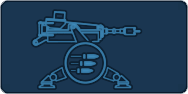 Sentry gun icon