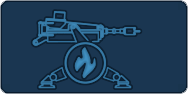 Incendiary sentry icon