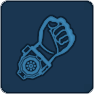 Power fist icon