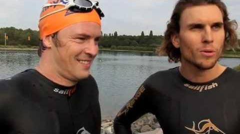 AWZ-Star Daniel Aichinger Angst vorm Schwimmen überwunden